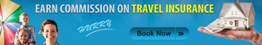 Travel insurance banner